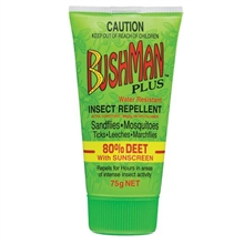BUSHMAN 75G Gel Green Deet-80 With Sunscreen-mosquito-Mitchells Adventure