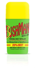 BUSHMAN 65G Roll-On Deet-20-mosquito-nets-and-repelants-Mitchells Adventure