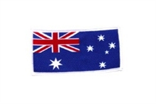Woven Badge - Australian Flag - Small-flags-and-patches-Mitchells Adventure