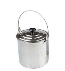 BILLY TIN 2800ML STAINLESS STEEL-to-cook-in-Mitchells Adventure