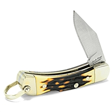 SCHRADE Uncle Henery Smokey Pocket Knife-for-cutting-Mitchells Adventure
