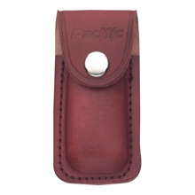 PACIFIC CUTLERY Sheath - Leather Brown Small - 7.5cm L X 4.5cm W-accessories-Mitchells Adventure