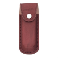PACIFIC CUTLERY Sheath - Leather Brown Large - 12cm L X 5cm W-accessories-Mitchells Adventure