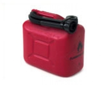 5Lt FUEL PLASTIC CONTAINER-fuel-containers-Mitchells Adventure