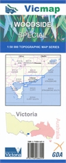 WOODSIDE SPECIAL 1;50000 VICMAP-maps-Mitchells Adventure