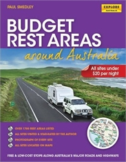 BUDGET REST AREA AROUND AUSTRALIA SPIRAL-books-Mitchells Adventure