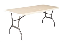 LIFETIME Lifetime 6' Blow Mould Fold in Half-tables-Mitchells Adventure