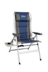 CASCADE DELUXE 8 POSITION W SIDE TABLE-chairs-Mitchells Adventure