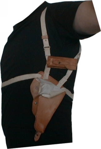 MILITARY SURPLUS Leather Shoulder Holster