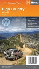 HEMA HIGH COUNTRY VICTORIA MAP-maps-Mitchells Adventure
