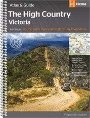 THE HIGH COUNTRY ATLAS & GUIDE-books-Mitchells Adventure