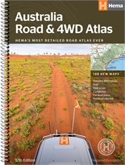 AUSTRALIAN ROAD & 4WD ATLAS SPIRAL-books-Mitchells Adventure