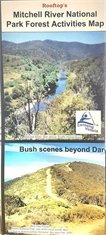 MITCHELL RIVER NATIONAL PARK ACTIVITIES MAP-maps-Mitchells Adventure
