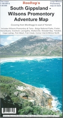 SOUTH GIPPSLAND-WILSONS PROM ADVENTURE MAP-maps-Mitchells Adventure
