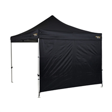 SOLID WALL KIT - HEAVY DUTY BLACK (300D)-accessories-Mitchells Adventure