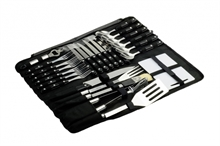 26PC CUTLERY & BBQ SET-to-eat-with-Mitchells Adventure