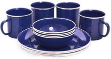 ENAMEL DINNER SET-to-eat-with-Mitchells Adventure