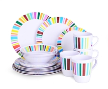 20PC MELAMINE DINNER SET-to-eat-with-Mitchells Adventure
