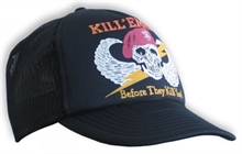 BASEBALL CAP-KILL EM ALL-summer-Mitchells Adventure